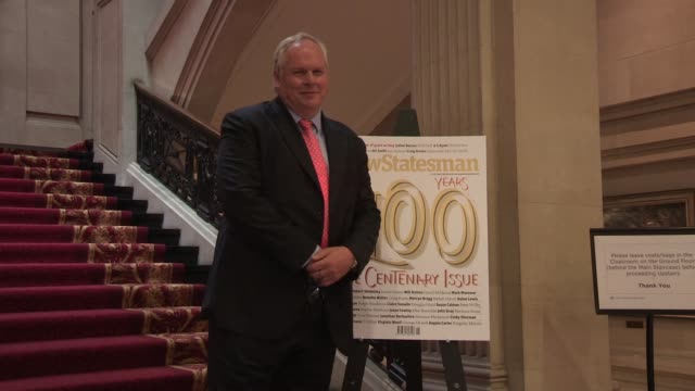 Adam Boulton at The New Statesman Centenary Party on June 20 2013 in London England