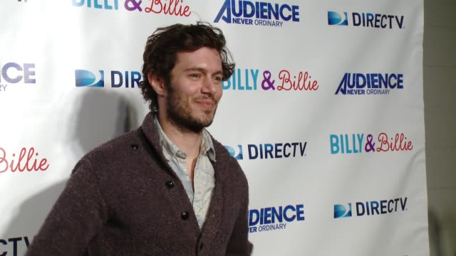 adam brody at directv celebrates the premiere of 'billy and billie' on february 25 2015 in los angeles california - adam brody stock videos & royalty-free footage