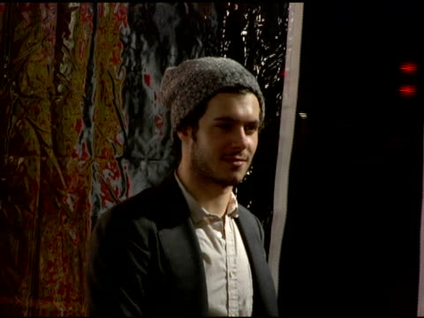 adam brody at the 2007 conde nast traveler hot list party arrivals at the bowery hotel in new york new york on april 19 2007 - adam brody stock videos & royalty-free footage