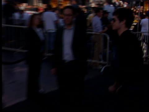 adam brody at the batman begins premiere at manns chinese theater hollywood in hollywood ca - adam brody stock videos & royalty-free footage