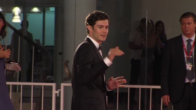 adam brody at the closing night damsels in distress premiere venice film festival 2011 at venice - adam brody stock videos & royalty-free footage