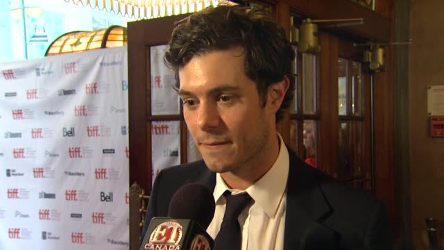 adam brody at the 'damsels in distress' premiere 2011 toronto international film festival at toronto on - adam brody stock videos & royalty-free footage