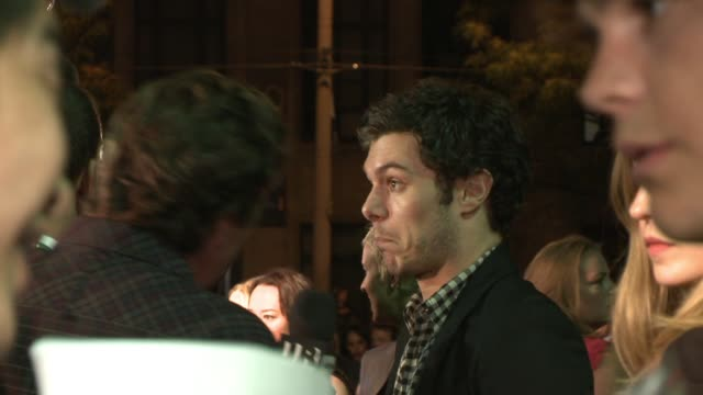 adam brody at the 'jennifer's body' premiere at toronto on - adam brody stock videos & royalty-free footage