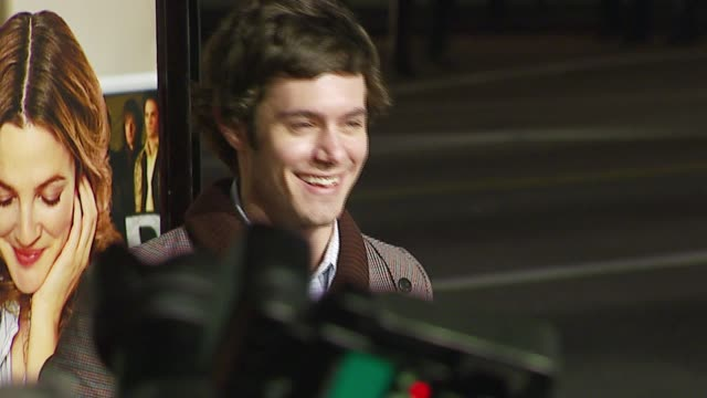adam brody at the 'music and lyrics' premiere at grauman's chinese theatre in hollywood california on february 7 2007 - adam brody stock videos & royalty-free footage