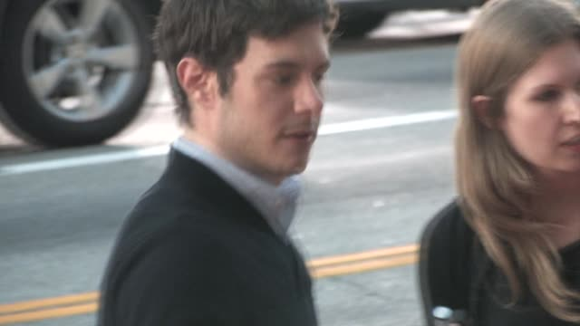 adam brody at the 'scream 4' premiere in hollywood on 4/11/11 - adam brody stock videos & royalty-free footage