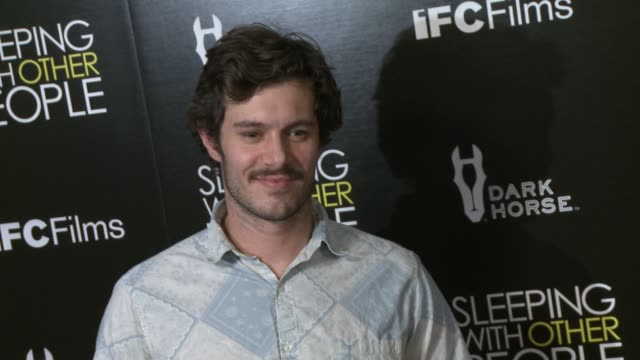 adam brody at the sleeping with other people los angeles premiere at arclight cinemas on september 09 2015 in hollywood california - adam brody stock videos & royalty-free footage