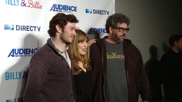 adam brody lisa joyce and neil labute at directv celebrates the premiere of 'billy and billie' on february 25 2015 in los angeles california - adam brody stock videos & royalty-free footage
