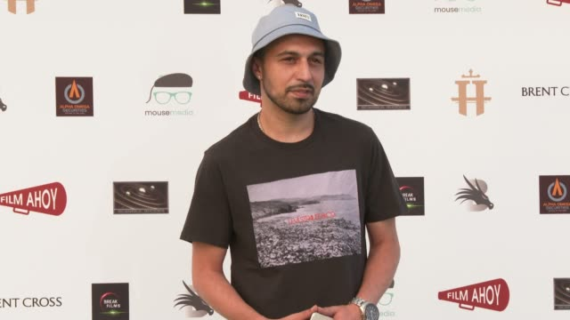adam deacon at 'break' world premiere on july 22 2020 in london englandthe drivein club in north london hosts the first drivein premiere notably the... - film premiere stock videos & royalty-free footage