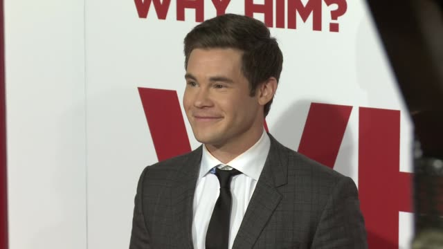 Adam DeVine at the Why Him World Premiere at Regency Bruin Theater on December 17 2016 in Westwood California