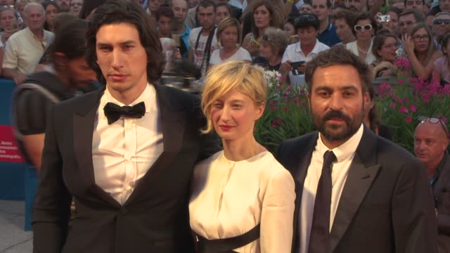 Adam Driver Alba Rohrwacher Saverio Costanzo at 'Hungry Hearts' Red Carpet 71st Venice International Film Festival on August 31 2014 in Venice Italy