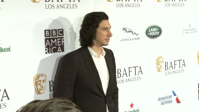 Adam Driver at BAFTA Tea Party in Los Angeles CA