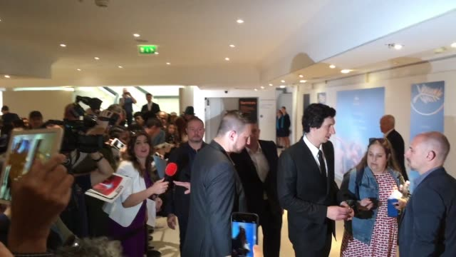 Adam Driver at Celebrity Sightings in Cannes on May 15 2018 in Cannes France