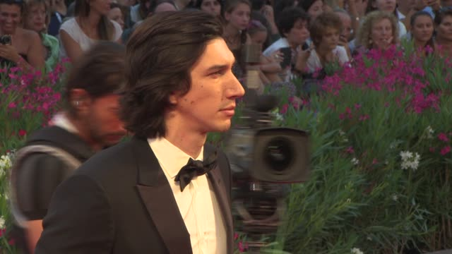 Adam Driver at 'Hungry Hearts' Red Carpet 71st Venice International Film Festival on August 31 2014 in Venice Italy