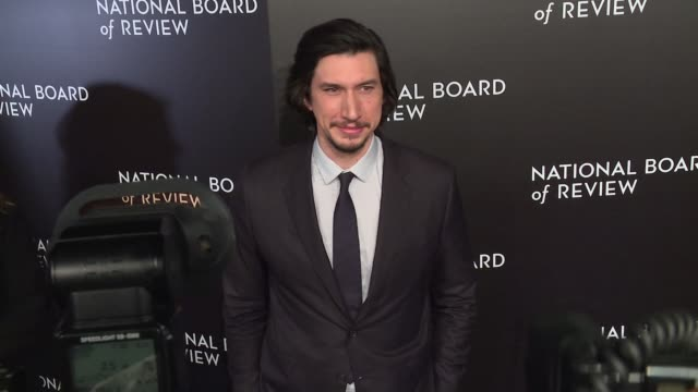 Adam Driver at National Board Of Review Gala at Cipriani 42nd Street on January 04 2017 in New York City