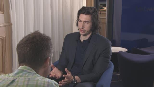 Adam Driver at 'Paterson' Interviews at Carlton Hotel on May 15 2016 in Cannes France