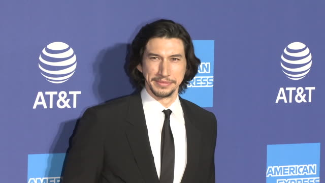 adam driver at the 31st annual palm springs international film festival film awards gala - palm springs california stock videos & royalty-free footage
