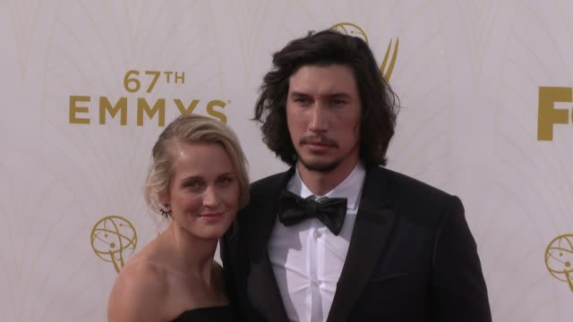 Adam Driver at the 67th Annual Primetime Emmy Awards at Microsoft Theater on September 20 2015 in Los Angeles California