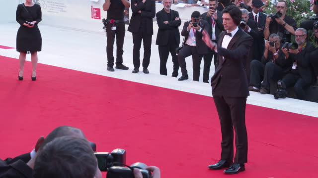 adam driver at the 76th venice film festival on august 26 2019 in venice italy - venice italy stock videos & royalty-free footage