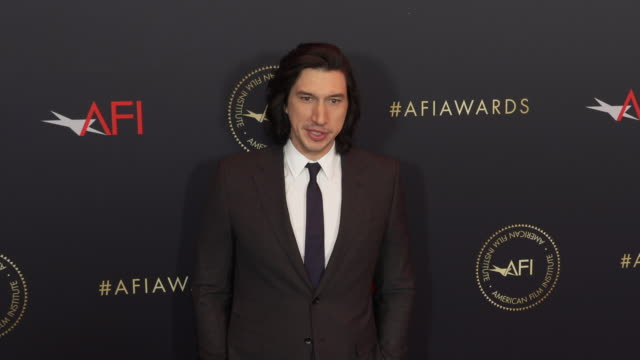 Adam Driver at the AFI Awards 2018 at Four Seasons Hotel Los Angeles at Beverly Hills on January 04 2019 in Beverly Hills California