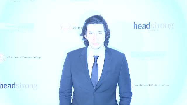 Adam Driver at The Headstrong Project 'Words of War' Benefit at Tribeca 360 on October 02 2014 in New York City