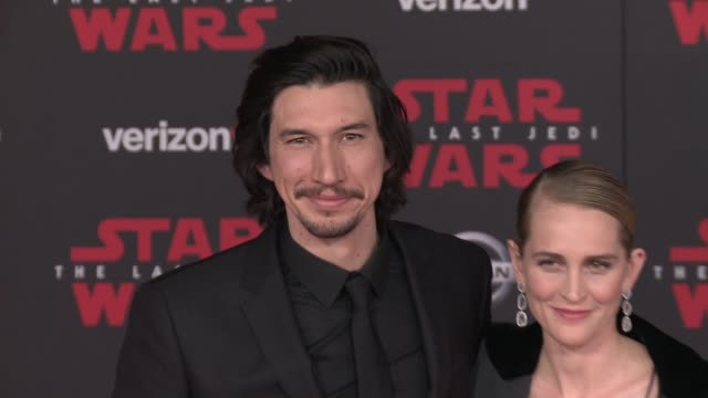 Adam Driver at the 'Star Wars The Last Jedi' Premiere at The Shrine Auditorium on December 9 2017 in Los Angeles California