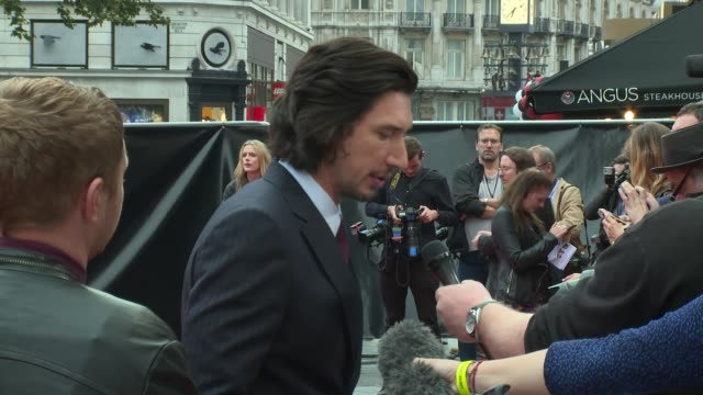Adam Driver at Vue West End on August 21 2017 in London England