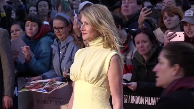 adam driver laura dern ray liotta and noah baumbach walk on the red carpet for the bfi london film festival premiere of marriage story - noah baumbach stock videos and b-roll footage