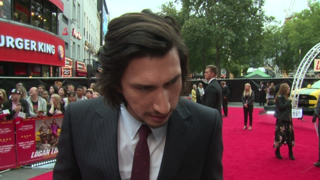 Adam Driver on brother similarities Soderbergh movies and the desperation of his character at Vue West End on August 21 2017 in London England