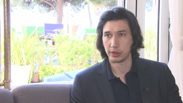 INTERVIEW Adam Driver on his character at 'Paterson' Interviews at Carlton Hotel on May 15 2016 in Cannes France