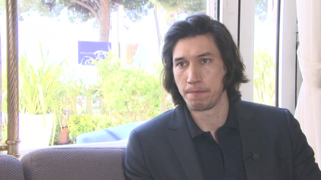 vidéos et rushes de interview adam driver on if he worries about being typecast after 'star wars' at 'paterson' interviews at carlton hotel on may 15 2016 in cannes... - star wars titre d'œuvre