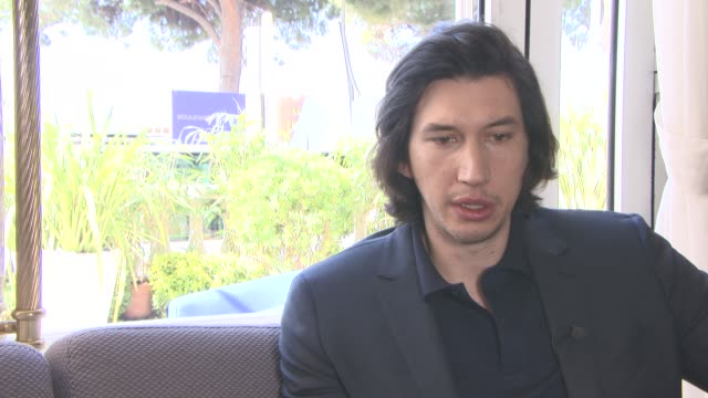 vidéos et rushes de interview adam driver on spending time in the uk and ireland whilst filming 'star wars' at 'paterson' interviews at carlton hotel on may 15 2016 in... - star wars titre d'œuvre