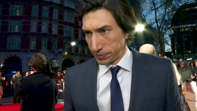interview adam driver on still having love in the film even when its about divorce how the film navigates love in a different way at 'marriage story'... - love emotion stock videos & royalty-free footage