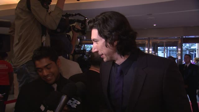 Adam Driver 'While We're Young' Premiere 2014 Toronto International Film Festival at Princess of Wales Theatre on September 06 2014 in Toronto Canada