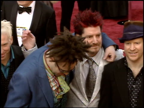 adam duritz at the 2005 academy awards at the kodak theatre in hollywood, california on february 27, 2005. - 77th annual academy awards stock videos & royalty-free footage