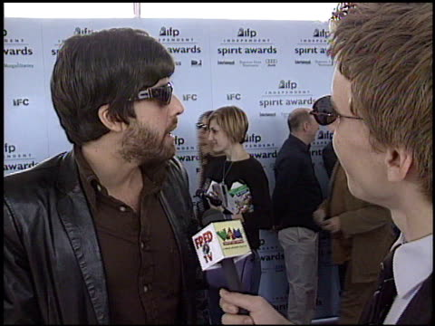 adam goldberg at the 2003 ifp independent spirit awards on march 22 2003 - ifp independent spirit awards stock videos and b-roll footage