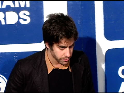 adam goldberg at the ifp's 15th annual gotham awards arrivals at pier 60 at chelsea piers in new york new york on november 30 2005 - chelsea piers stock videos & royalty-free footage