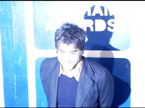 adam goldberg at the ifp's 15th annual gotham awards arrivals at pier 60 at chelsea piers in new york, new york on november 30, 2005. - independent feature project video stock e b–roll