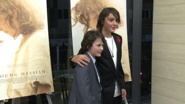 "Adam GreavesNeal Finn MacLeod Ireland at ""The Young Messiah"" Los Angeles Special Screening Presented by Focus Features in Los Angeles CA"