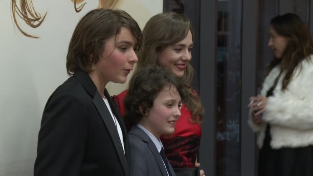 "Adam GreavesNeal Finn MacLeod Ireland Sara Lazzaro at ""The Young Messiah"" Los Angeles Special Screening Presented by Focus Features in Los Angeles CA"
