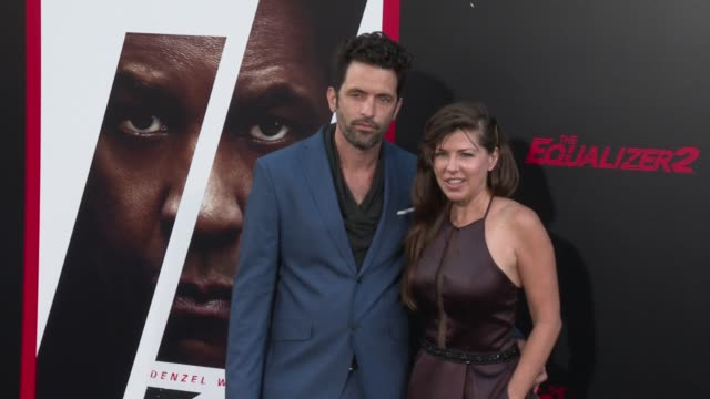 Adam Karst at the 'The Equalizer 2' Premiere at TCL Chinese Theatre on July 17 2018 in Hollywood California