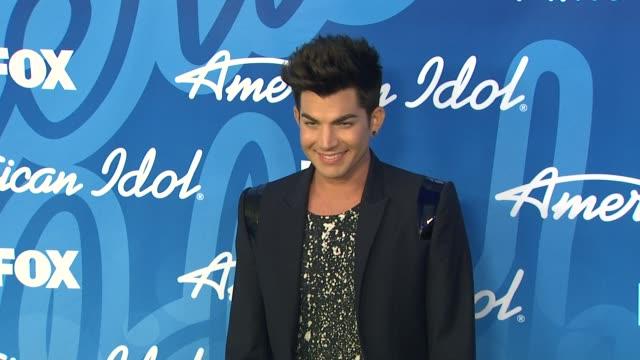 adam lambert at american idol season 12 finale 5/16/2013 in los angeles ca - adam lambert stock videos and b-roll footage