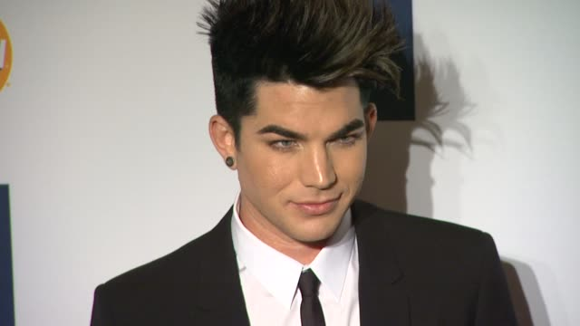 Adam Lambert at Clive Davis And The Recording Academy's 2012 PreGRAMMY Gala And Salute To Industry Icons Honoring Richard Branson on 2/11/12 in...