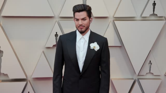 adam lambert at dolby theatre on february 24 2019 in hollywood california - adam lambert stock videos and b-roll footage