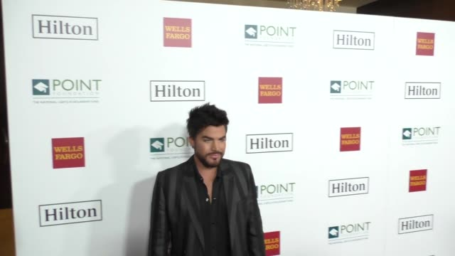 Adam Lambert at Point Honors Los Angeles 2017 Benefiting Point Foundation on October 07 2017 in Beverly Hills California