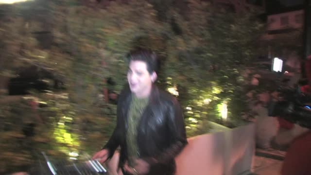 Adam Lambert at Red O in Los Angeles at the Celebrity Sightings in Los Angeles at Los Angeles CA