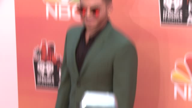adam lambert at the 2014 iheartradio music awards arrivals at the shrine auditorium on may 01 2014 in los angeles california - adam lambert stock videos and b-roll footage