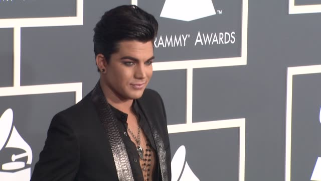 Adam Lambert at the 53rd GRAMMY Awards Arrivals Part 3 at Los Angeles CA