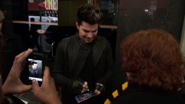 Adam Lambert at 'The Wendy Williams Show' studio Adam Lambert at 'The Wendy Williams Show' studio on December 10 2012 in New York New York