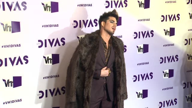 adam lambert at vh1 divas 2012 on in los angeles ca - adam lambert stock videos and b-roll footage