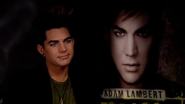 Adam Lambert interview Lambert interview SOT